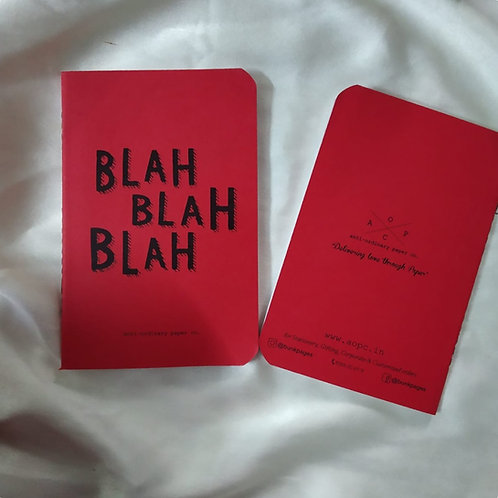 Blah Pocket Diary