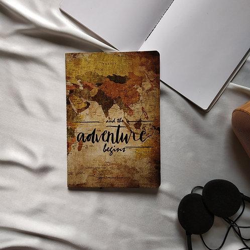 "Anti-ordinary Notepad""adventure begins"""