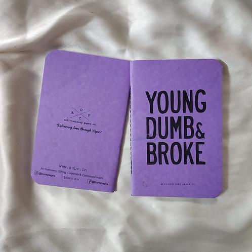 Young Dumb Pocket Diary