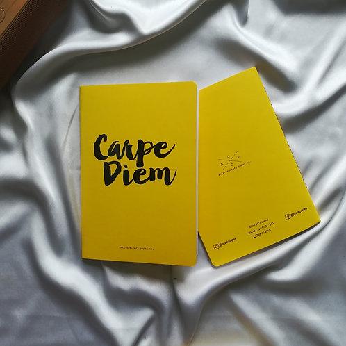 "Anti-ordinary Notepad ""carpe diem"""
