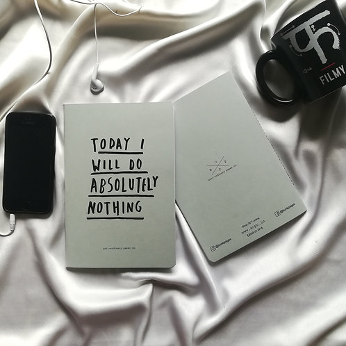 "Anti-ordinary Notepad ""absolutely nothing"""