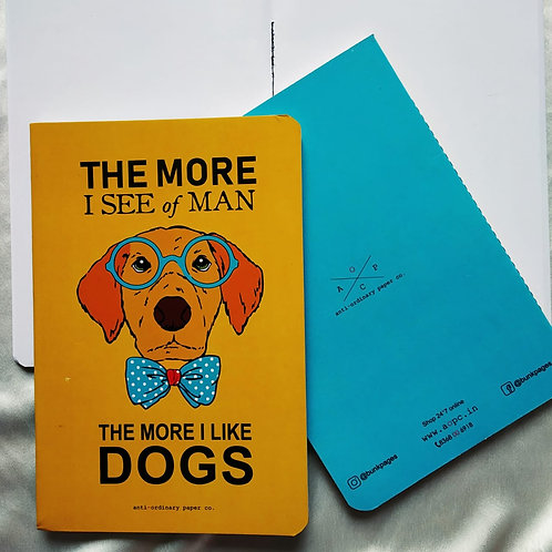 "Anti-ordinary ""Love Dogs"" Notepad"