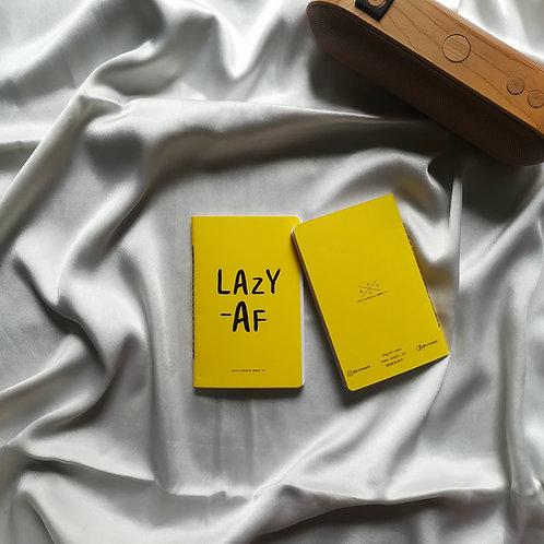 "Anti-ordinary Pocket Diary ""lazy Af"""