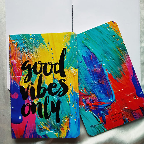 "Anti-ordinary ""Good Vibes"" Notepad"
