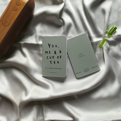 "Anti-ordinary Pocket Diary ""you me & tea"""