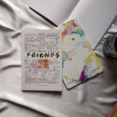 "Anti-ordinary Notepad ""friends"""