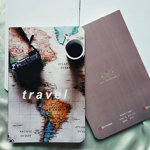 "Anti-ordinary ""Travel"" Notepad"