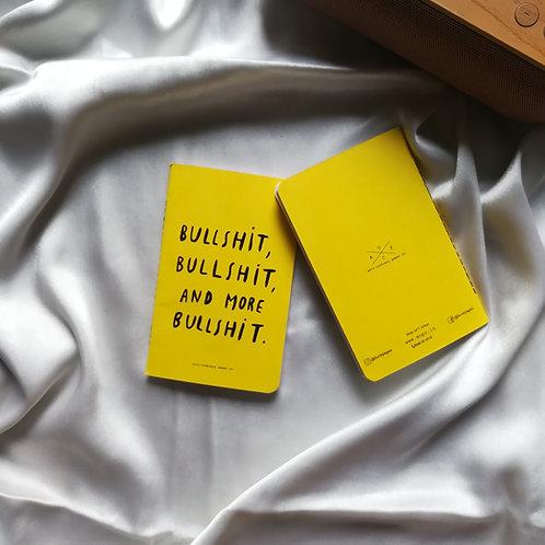 "Anti-ordinary Pocket Diary ""bullshit"""