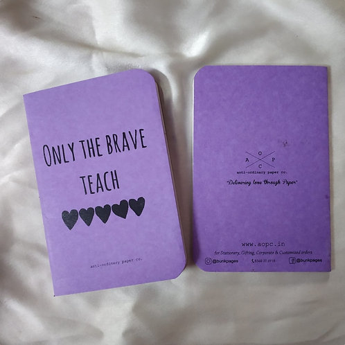 Brave 🖤 Pocket Diary