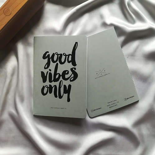 "Anti-ordinary Notepad ""Good Vibes"""