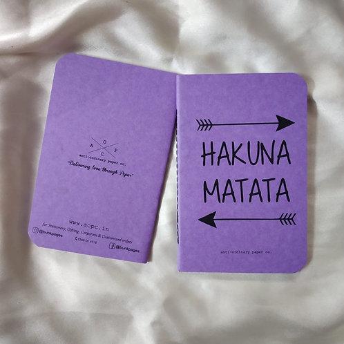 Hakuna Matata Pocket Diary
