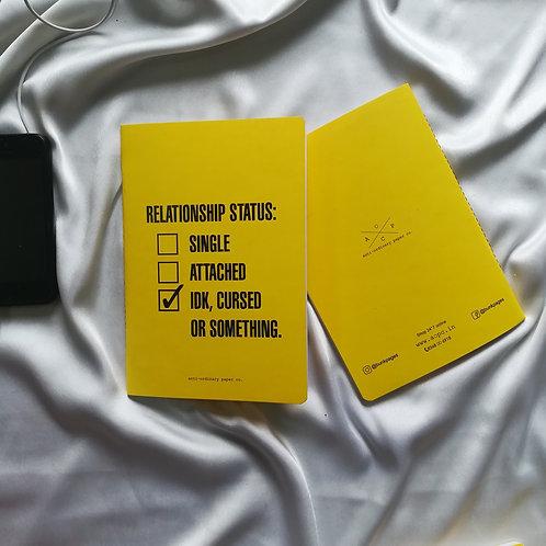"Anti-ordinary Notepad ""relationship status"""