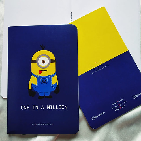 "Anti-ordinary ""Million"" Notepad"