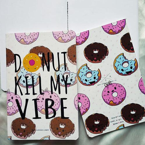 """Anti-ordinary """"Donut"""" Notepad"""