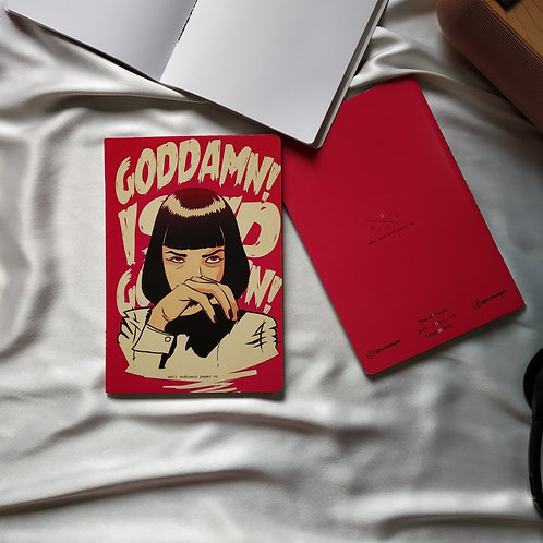 "Anti-ordinary Notepad ""goddamn"""