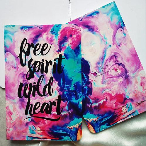 "Anti-ordinary "" Free Spirit"" Notepad"