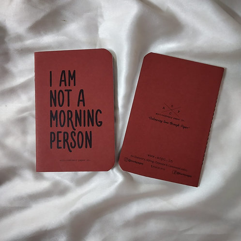 Morning Person Pocket Diary