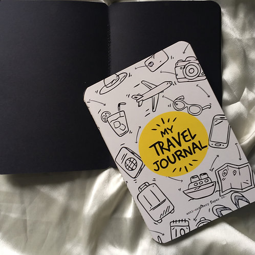 A5 Black Pages Journal