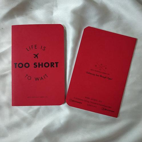 Short To Wait Pocket Diary