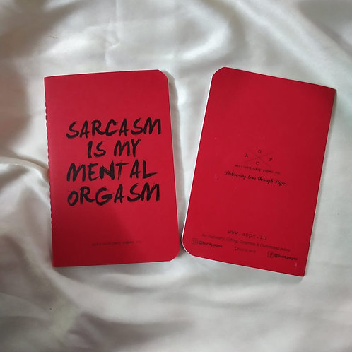 Sarcasm Pocket Diary