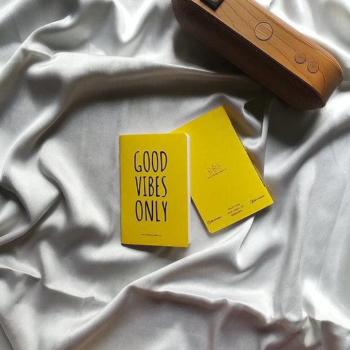 """Anti-ordinary Pocket Diary """"good vibes"""""""