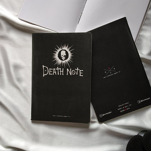 "Anti-ordinary Notepad ""death note"""