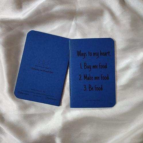 Foodie Pocket Diary