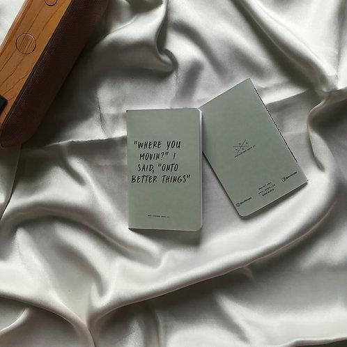 "Anti-ordinary Pocket Diary ""better things"""