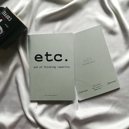"Anti-ordinary Notepad ""etc"""