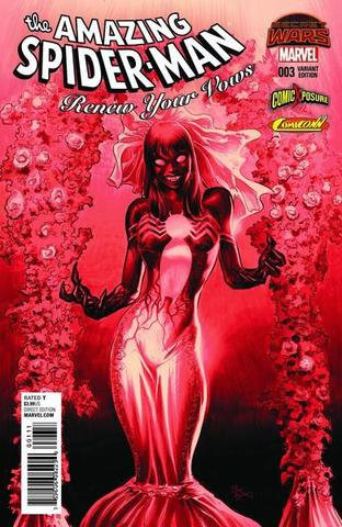 The Amazing Spider-Man: Renew Your Vous  #003. Variant Cover Red