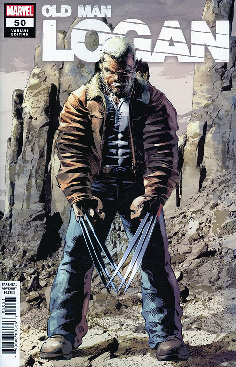 Old Man Logan #50 - Variant Cover Color [Signed Edition by Mike Deodato Jr]