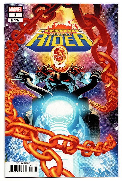 Cosmic Ghost Rider #1 - Variant Cover by Mike Deodato Jr