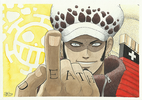 Fan Art - Trafalgar Law [color]