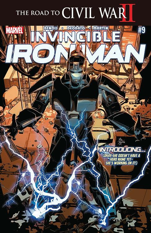 Invincible Iron Man #9 [Civil War II]