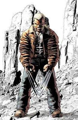 Old Man Logan #50 - Variant Cover White [Signed Edition by Mike Deodato