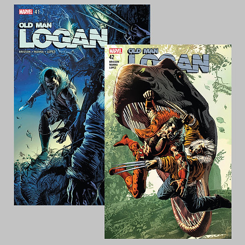 Old Man Logan: Kraven vs. Logan