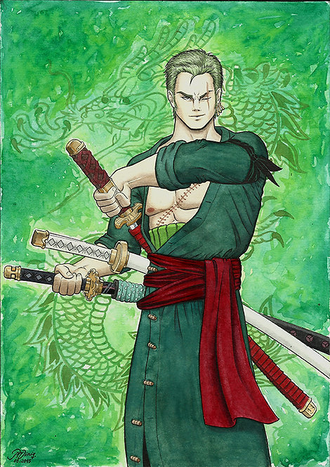 Fan Art - Zoro [color]