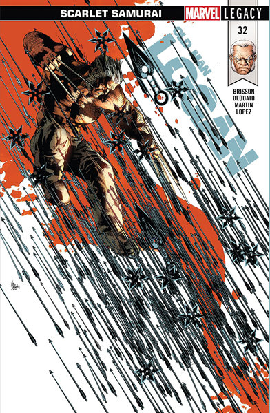 Old Man Logan #32 [Signed Edition by Mike Deodato Jr]