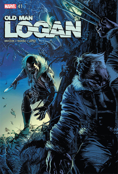 Old Man Logan #41 [Signed Edition by Mike Deodato Jr]