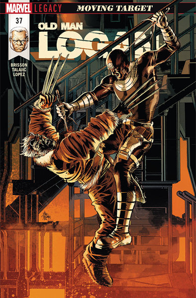 Old Man Logan #37 [Signed Edition by Mike Deodato Jr]