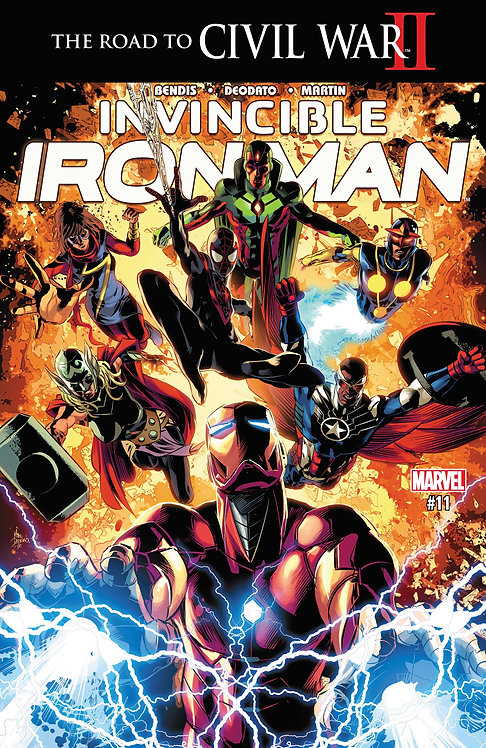 Invincible Iron Man #11 [Civil War II]