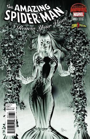 The Amazing Spider-Man: Renew Your Vous  #003. Variant Cover Negative