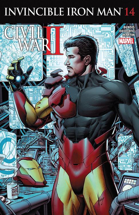 Invincible Iron Man #14 [Civil War II]