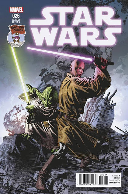 Star Wars #26 [variant cover by Mike Deodato Jr.]