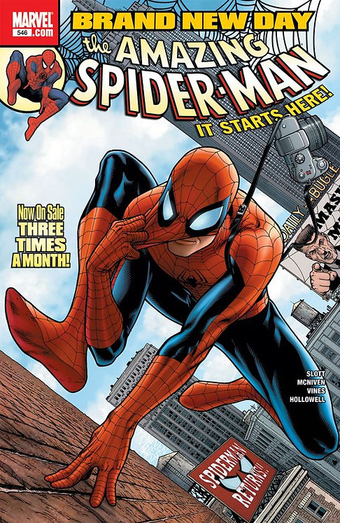 The Amazing Spider-Man #546