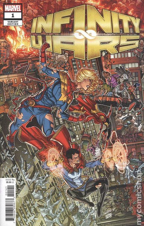Infinity War #1 - Variant Cover by Javier Gárron
