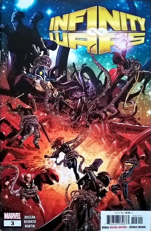 Infinity War #3 - Official Cover Color by Mike Deodato Jr