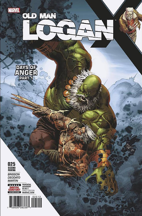 Old Man Logan #25 - second printing [Signed Edition by Mike Deodato Jr]