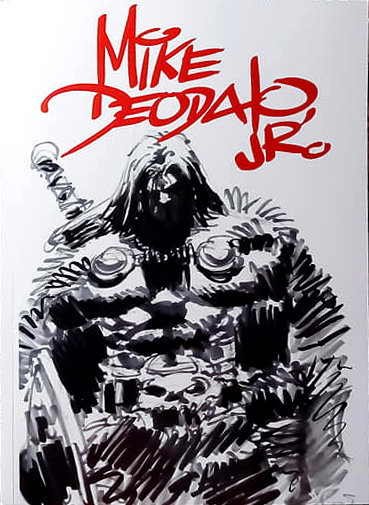 Sketchbook Mike Deodato Jr