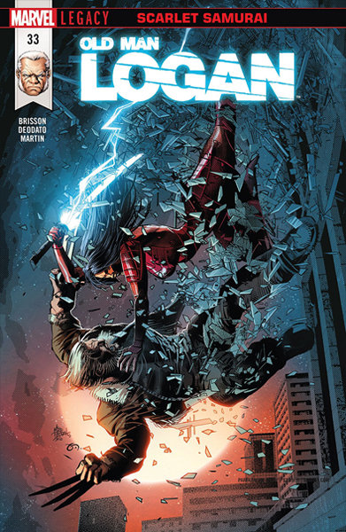 Old Man Logan #33 [Signed Edition by Mike Deodato Jr]